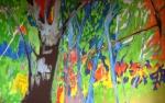 Sous-bois n°2 - huile sur toile - 130 x 220 cm - 2014