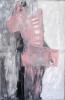 Signe rose - acrylique sur aluminium - 115 x 178 cm - 2010.