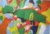 Rire - huile sur toile - 100 x 70 cm - 2014