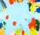 J'embrasse bleu - Acrylique sur toile - 200 X 230 cm - 2013