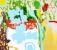 Paix sur la terre - Acrylique sur toile - 200 X 230 cm - 2013