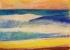 Mer 2 - Crayon Conté - 42 x 29,7 cm