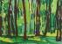 Bois 1 - Gouache - 42 x 29,5 cm