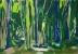 Bois 2 - Gouache - 42 x 29,5 cm