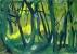 Bois 8 - Gouache - 42 x 29,5 cm