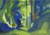 Bois 9 - Gouache - 42 x 29,5 cm