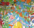 Grands champs - Acrylique sur toile - 200 x 230 cm - 2013