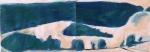 Gouache sur papier - 30 x 84 cm - 2018.